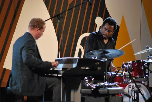 Craig Taborn and Nate Smith of Chris Potter Underground