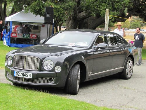 2011 Bentley Muslane, lost on the way to Pebble Beach