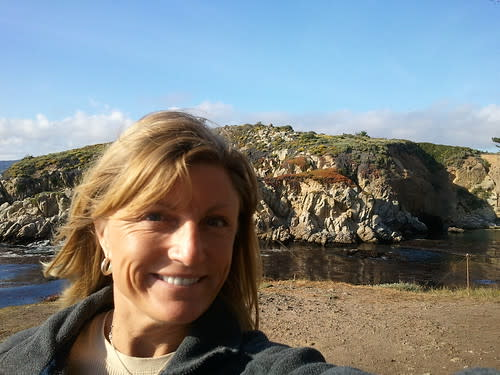 Annette at Point Lobos State Natural Reserve