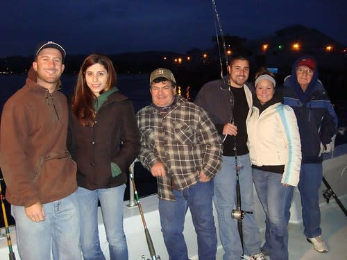 Deep Sea Salmon Fishing with my crew