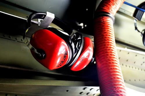 Ear Protection from the Loud Engine