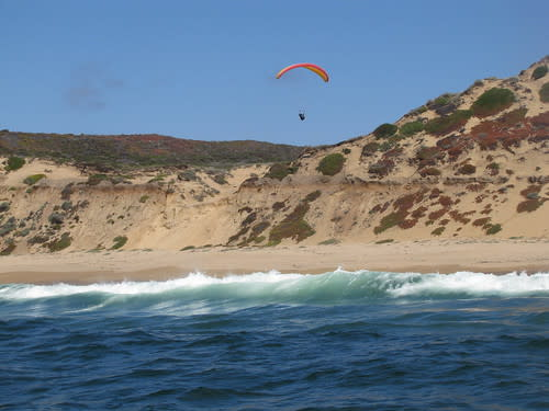 Hang Gliders on Marina State Beach