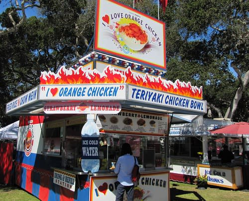 Teriyaki Bowls & Orange Chicken at the Monterey County Fair