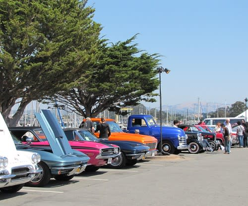 Cherry's Jubilee along the waterfront in Monterey