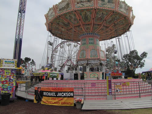 Carnival Ride at the Monterey County Fair- Originally from Michael Jackson's Neverland Ranch