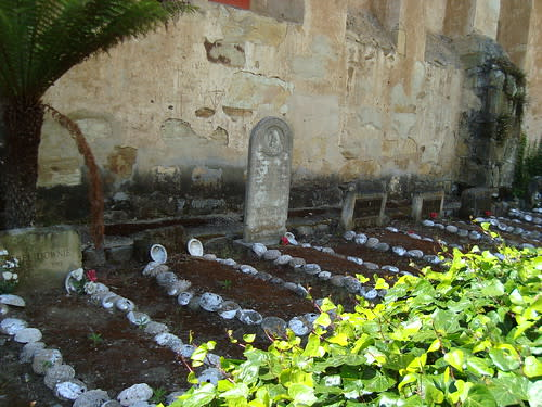 Indian Cemetary at the Carmel Mission
