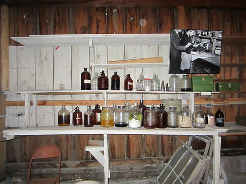 "Basement of Ed ""Doc"" Ricketts' Lab"