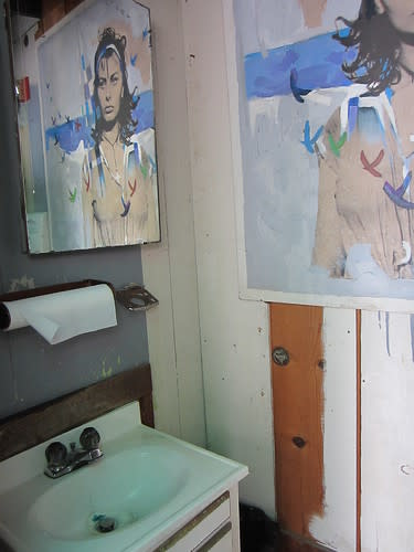 "The ""Sophia Bathroom"" at Ed ""Doc"" Ricketts' Lab"