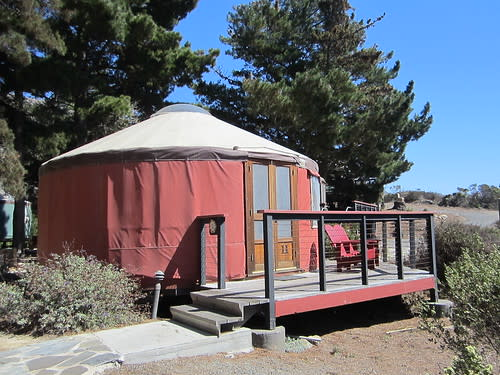 Yurt at Treebones Resort