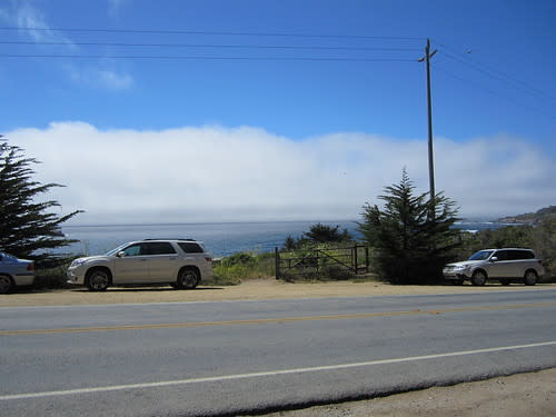Parking Along Highway One