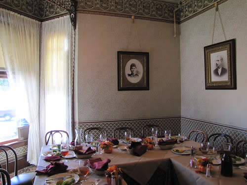 Dining Room at The Steinbeck House