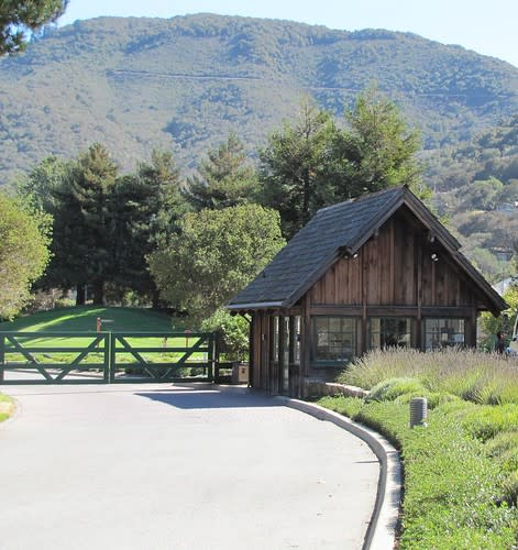 Entrance to Carmel Valley Ranch