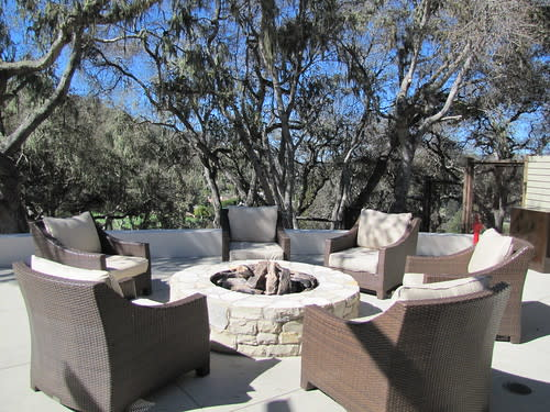 Outdoor Seating at the Lodge Restaurant at Carmel Valley Ranch