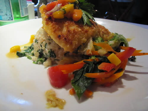 Macadamia Crusted Halibut