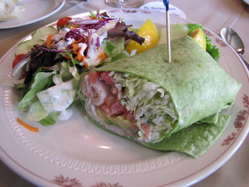 Turkey, Bacon and Avocado Wrap