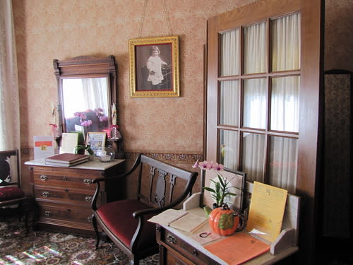 Interior of The Steinbeck House