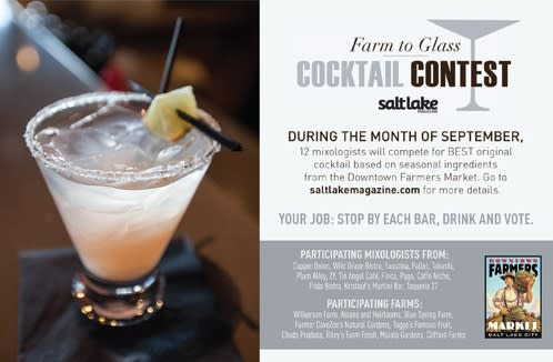 farm to glass competition