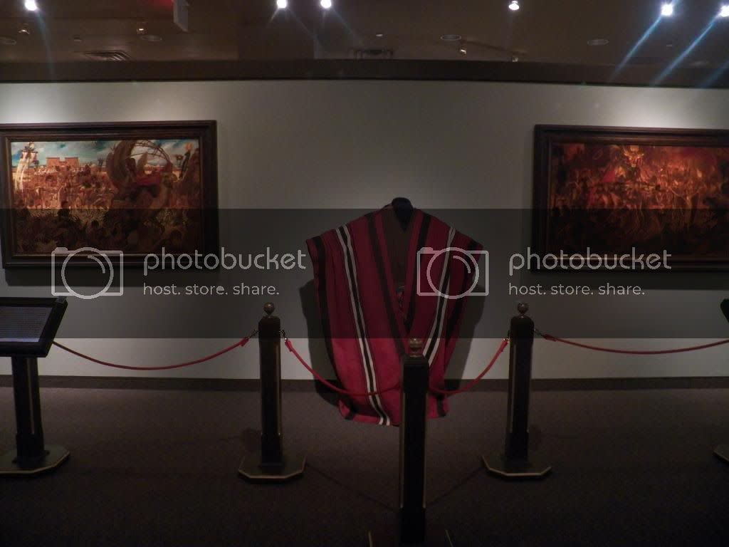 The robe that Charlton Heston wore as Moses in