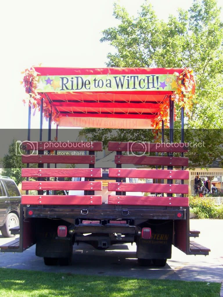 Ride To A Witch