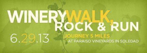 Winery Walk, Rock & Run