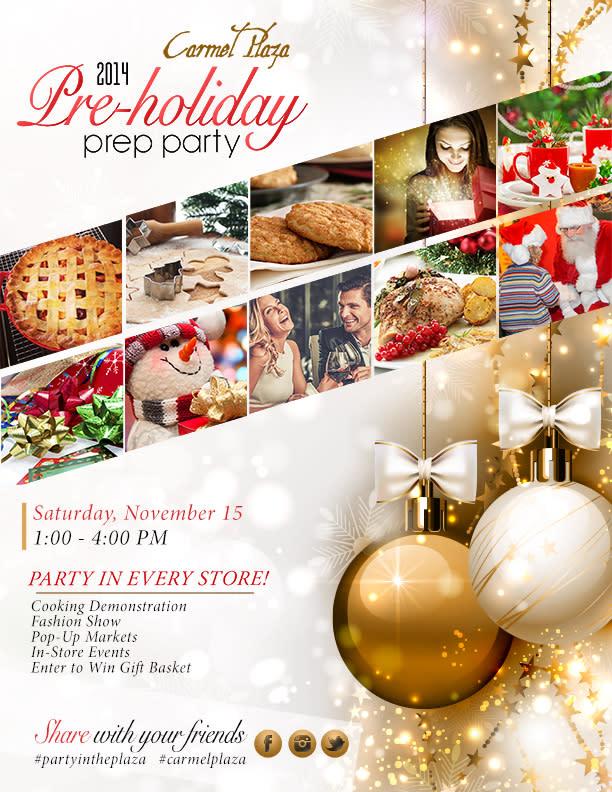 Pre-Holiday Prep Party