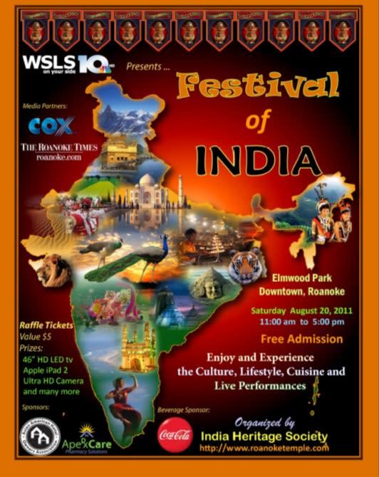 Festival of India Flier