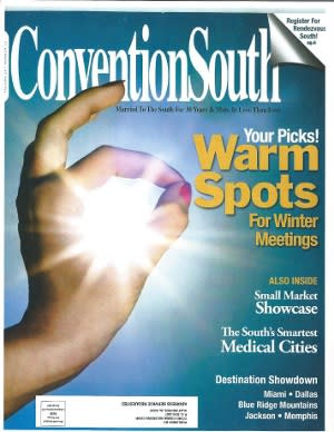 Convention South July 2013 Cover