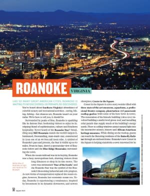 Roanoke Virginia Northern Virginia Magazine 1