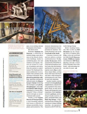 Roanoke Virginia Northern Virginia Magazine 2
