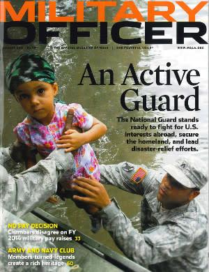 Military Officer 8/2013 1