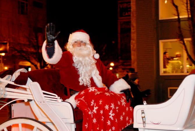 Santa - Roanoke Christmas Parades