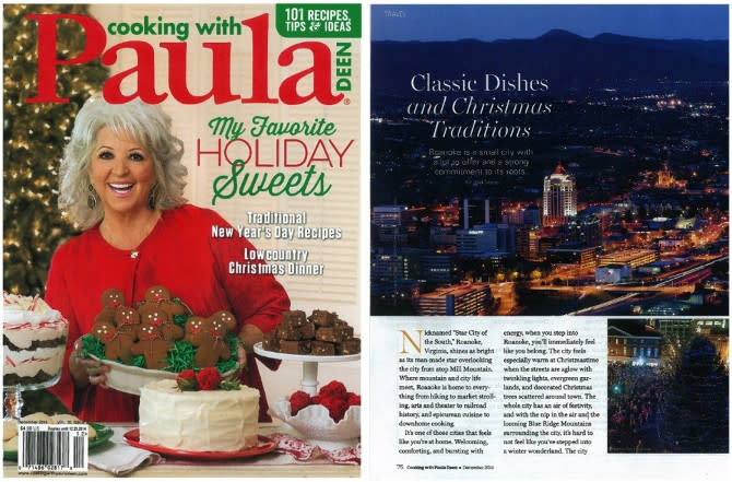 Cooking with Paula Deen Article