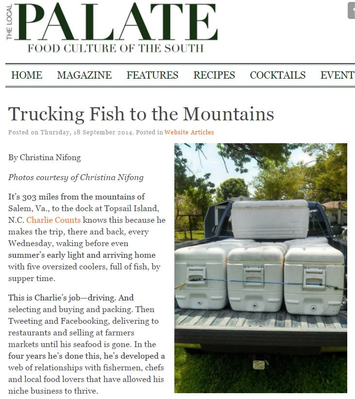 Trucking Fish to the Mountains