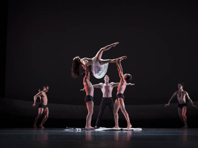 """Martha Graham Dance Company in Martha Graham's """"The Rite of Spring."""" Photo and copyright by Sinru Ku"""