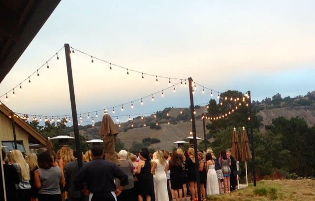 Wedding at Corral De Tierra, photo taken by Kaitlin Ford