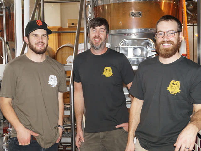 Brewers at Peter B's Brewpub