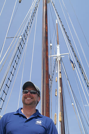 Dave McGinnis, Owner and Senior Captain of Traverse Tall Ship Co.