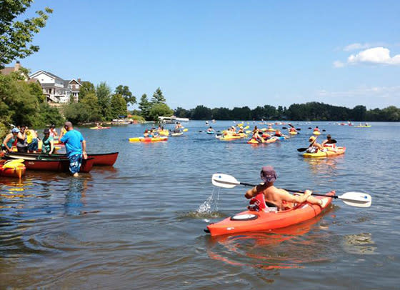 Paddle for Pints in Traverse City