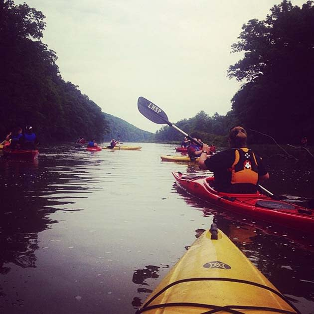 Kayaking at Laurel Hill State Park, image by: Sheena Baker