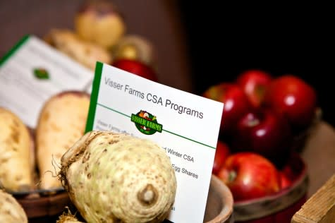 Local foods at Experience Grand Rapids Celebration