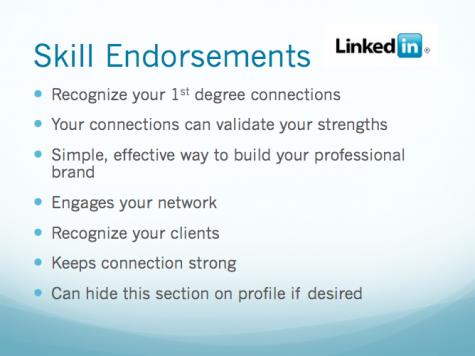 Skills Endorsement from LinkedIn