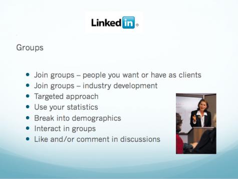 Groups on LinkedIn