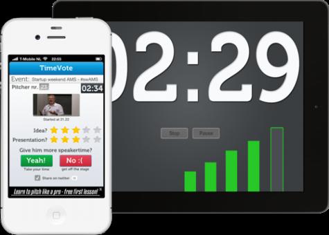 TimeVote screen capture