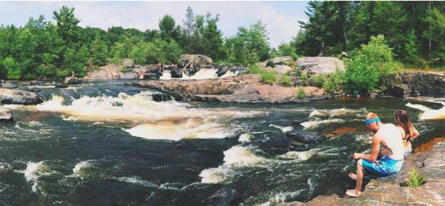 Big Falls - Photo by: Mariah Wild