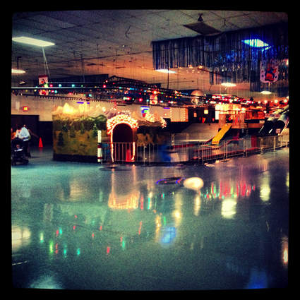 High Roller Skating - Photo by: Brianna Willer