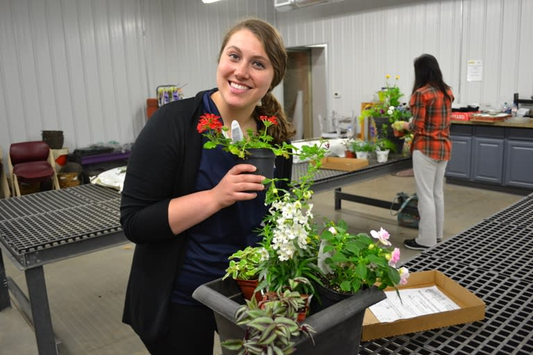 May's Floral Class with Katie- photo by: Katie Lindquist