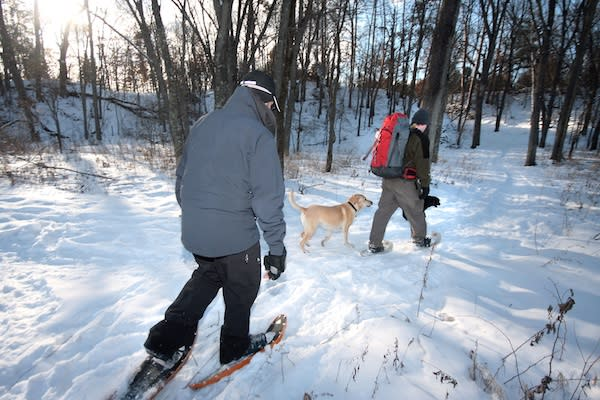 Snowshoe in Eau Claire - Photo by: Andrea Paulseth