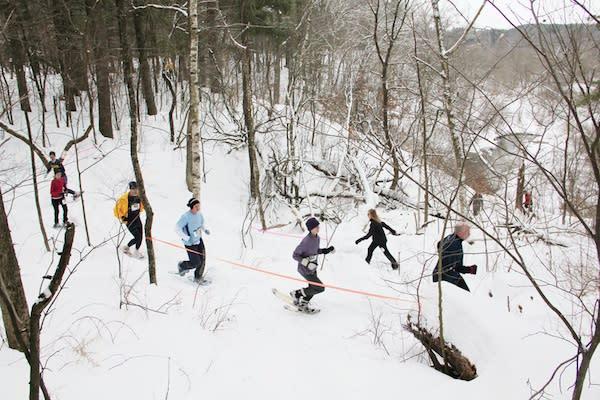 Powderkeg Snowshoeing - Photo by: Nick Meyer