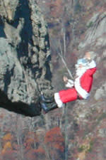 Santa Repelling at Chimney Rock