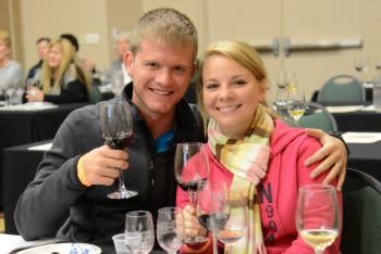Athens Wine Weekend Seminar Couple